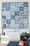 Blue Labyrinth - Zen Chic
