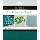 Teal-Waters-Flock-Transfer-Sheets
