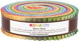 Kaufman-Skinny-Strips-Kona-Solids-Dusty-Colorway-41pcs