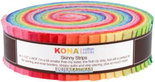 Kaufman-Skinny-Strips-Kona-Solids-Bright-Colorway-41pcs