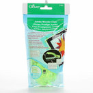 Clover-Jumbo-Wonder-Clips-(24pcs)-Neon-Green