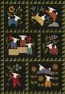 Pre-cut-Kit-Woolies-Flannel-Lambies-in-Pajamies-32in-x-46in