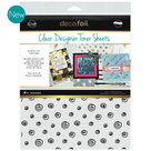 doodles clear toner sheets icraft