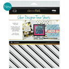 Pinstripes clear toner sheets icraft