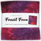 Benartex-5in-Squares-Fossil-Fern-100pcs