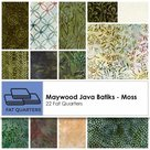 Maywood-Fat-Quarter-Java-Batiks-Moss-22pcs