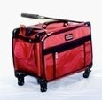 Large-TUTTO-Naaimachine-koffer-op-wielen-Rood