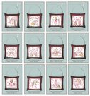 Sweet-Christmas-Ornaments-Complete-Set-of-12-Lynette-Anderson