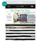 Distress lines clear toner sheets icraft
