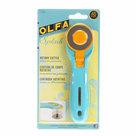 Olfa-Splash-Roterend-Snijmes-45mm-Aqua