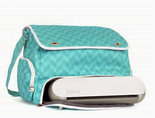 Silhouette-Portrait-Teal-Tote