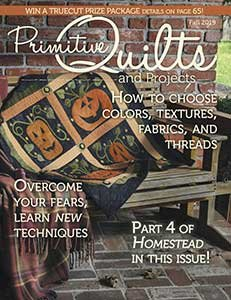 No 34 Herfst 2019 - Primitive Quilts & Projects
