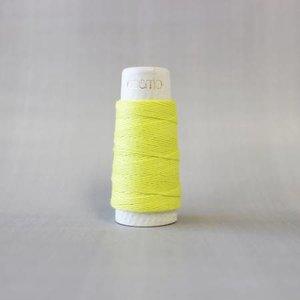 Lemon - Cosmo Hidamari Sashiko Solid Thread 30 Meters