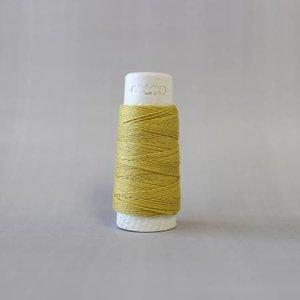 Olive - Cosmo Hidamari Sashiko Solid Thread 30 Meters