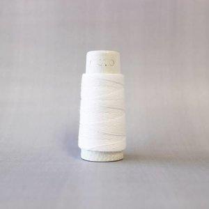 Snow White - Cosmo Hidamari Sashiko Solid Thread 30 Meters