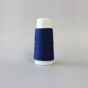 Indigo Blue - Cosmo Hidamari Sashiko Solid Thread 30 Meters