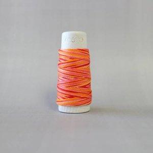 Tequila Sunrise Cosmo Hidamari Sashiko Variegated Thread 30 Meters