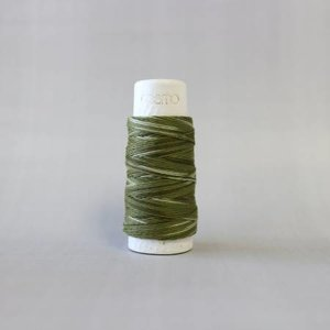 Forest Moss Cosmo Hidamari Sashiko Variegated Thread 30 Meters