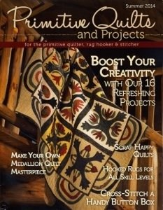 No 13 Sum 2014 - Primitive Quilts & Projects