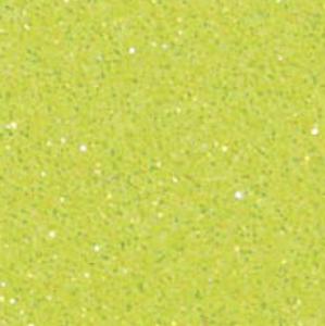 Neon Fluo Geel Glitter flex