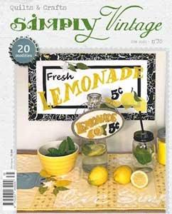 No 35 Zomer 2020 - Simply Vintage Franse Versie