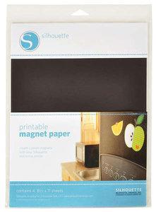 Printbaar Magnetisch Papier 4pcs SILHOUETTE
