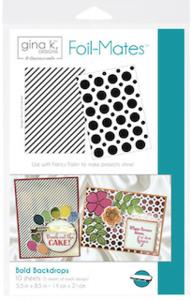 Bold Backdrops - Gina K. Designs Foil-Mates Backgrounds