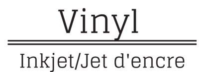 Wit Printbare Vinyl Inkjet
