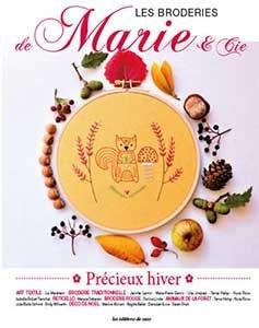 Précieux hiver - Les Broderies de Marie & Cie N°16