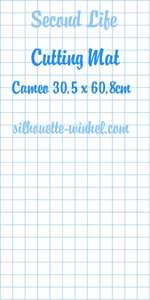 Second Life - Snijmat Cameo 60,8cm
