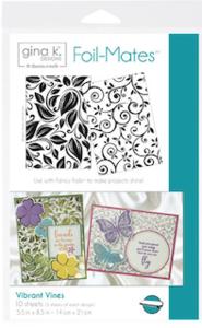 Vibrant Vines - Gina K. Designs Foil-Mates Backgrounds