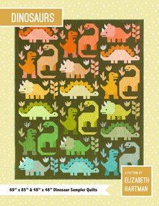 Quilt Kit Dinosaurs 69inx85in