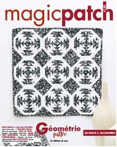 Magic Patch N°143 - Géométrie Quiltée