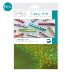 Glittering Green Fancy Foils Gina K Designs