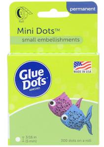 Mini Lijm dots 5mm - Glue Dots