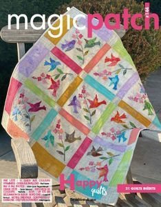 Magic Patch N°144 - Happy Quilts 21 Quilts Inédits