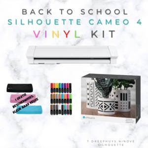 Back To School Silhouette Cameo 4 - Vinyl Kit