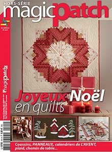 Magic Patch Hors-série N°101- Joyeux Noël en Quilts