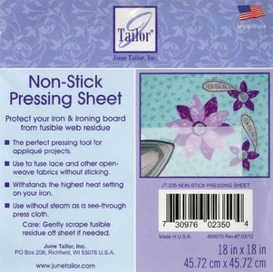 Non-Stick Pressing Sheet 18in x 18in - June Tailor