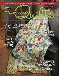 No 25 Zomer 2017 - Primitive Quilts & Projects