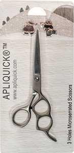 Apliquick 3-Hole Microserrated Scissors