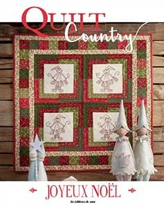Quilt Country 54 - Joyeux Noel