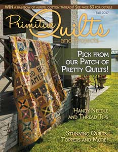 No 26 Herfst 2017 - Primitive Quilts & Projects
