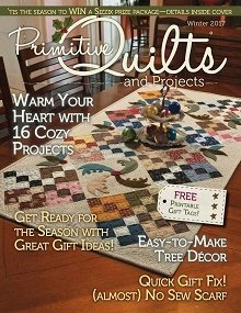 No 27 Winter 2017 - Primitive Quilts & Projects