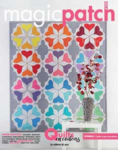 Magic Patch N°132 - Quilts en Couleurs