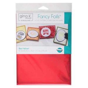 Red Velvet - Gina K. Designs Fancy Foils