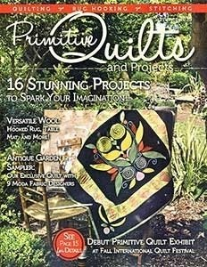 No 17 Summer 2015 - Primitive Quilts & Projects