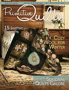 No 23 Winter 2016 - Primitive Quilts & Projects