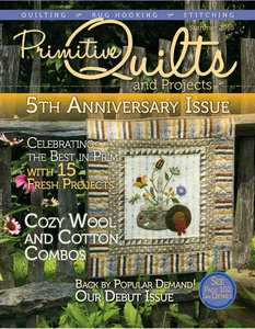 No 21 Zomer 2016 - Primitive Quilts & Projects