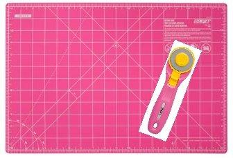 PROMO! Olfa Snijmat + Cutter Splash Fairy Floss Pink